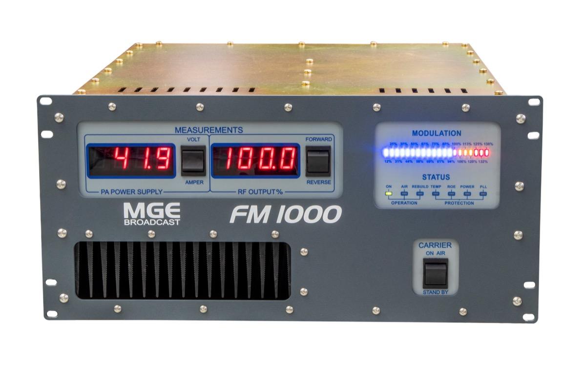 Painel Dianteiro Transmissor FM1000
