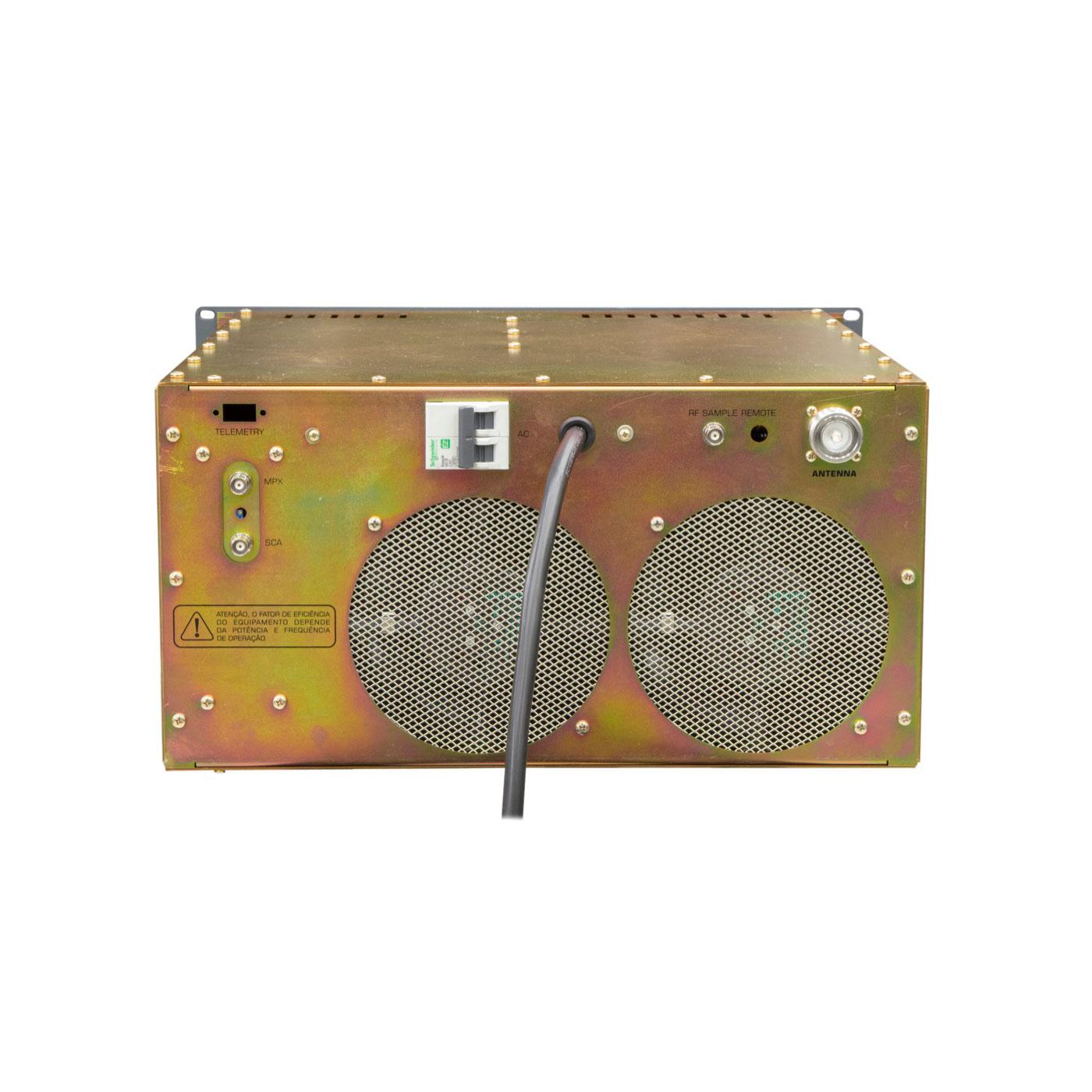 Painel traseiro Transmissor FM1000